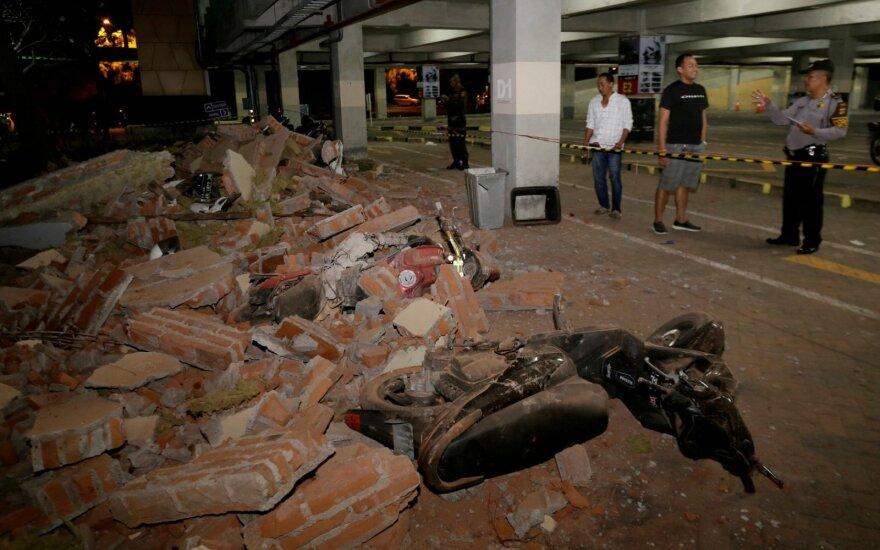 Indonezijos kariams stichinės nelaimės zonoje leista šaudyti į plėšikautojus