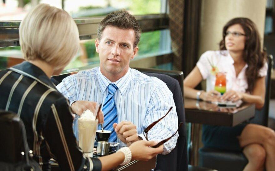 Pirmasis pasimatymas ir darbo pokalbis: 6 bendros klaidos