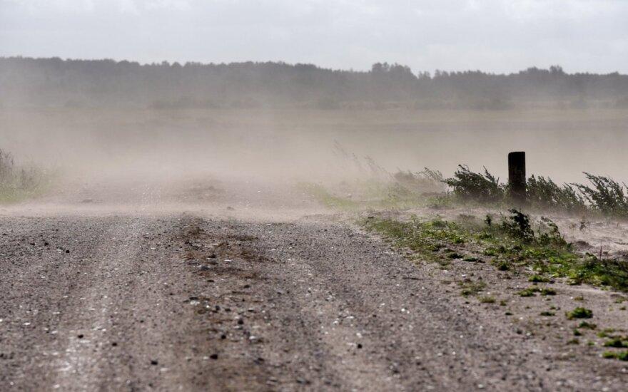 Smėlio audros Lietuvoje