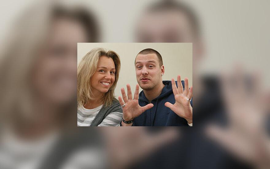 Violeta Riaubiškytė ir Vilius Tarasovas