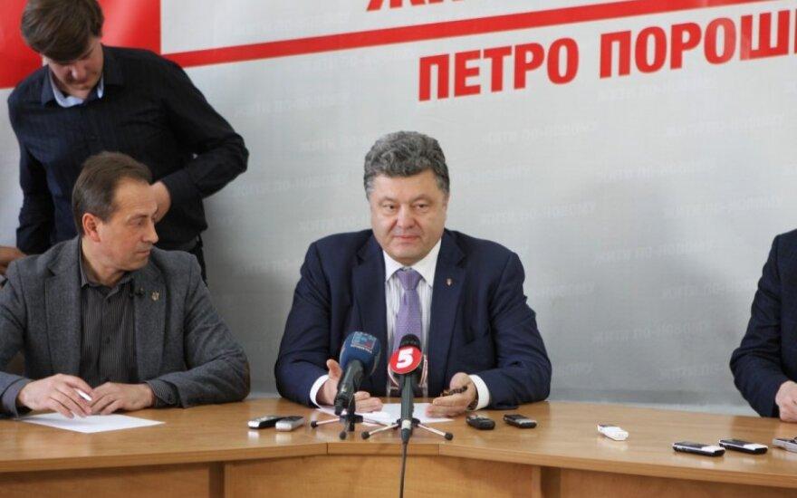 P. Porošenka: turime įrodymų, kad Odesoje įvykdytas teroro aktas, panaudoti nuodai