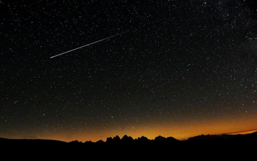 Orai: krentančių žvaigždžių stebėjimui palankesnis tik pirmadienis