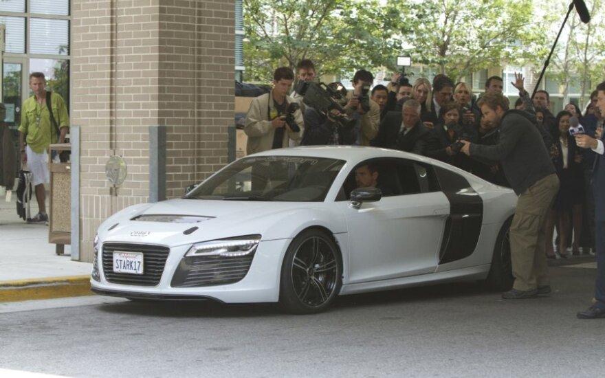 Audi R8 e-tron iš Iron Man 3 filmo