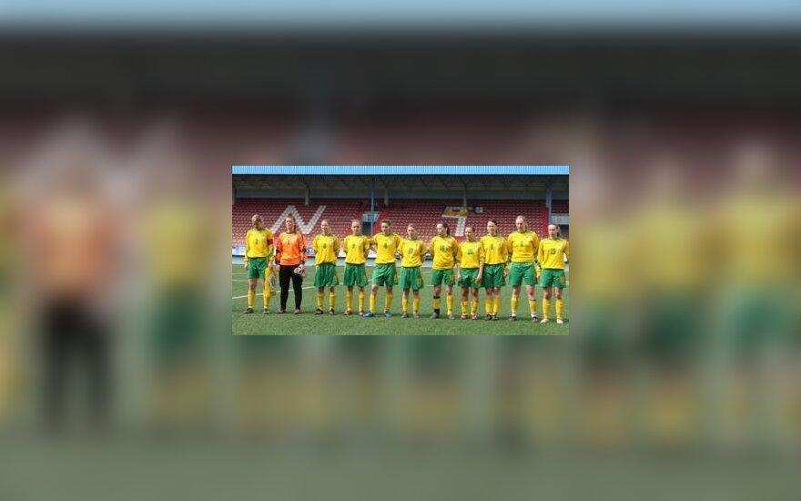 Lietuvos moterų futbolo rinktinė pralaimėjo bosnėms