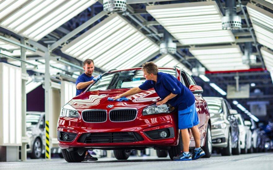 BMW gamykla Leipcige