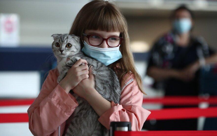 Prastos žinios gyvūnų šeimininkams: žmonės gali perduoti koronavirusą katėms ir šunims