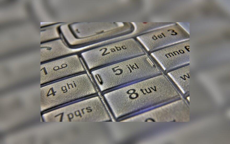 FNTT apribotas naudojimasis mobiliaisiais telefonais