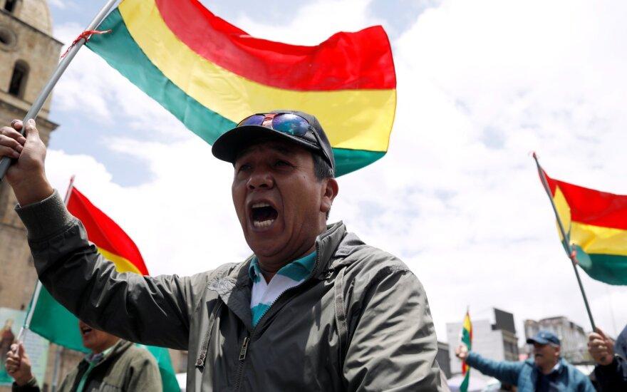 Bolivijoje neramumų po rinkimų aukų padaugėjo iki septynių