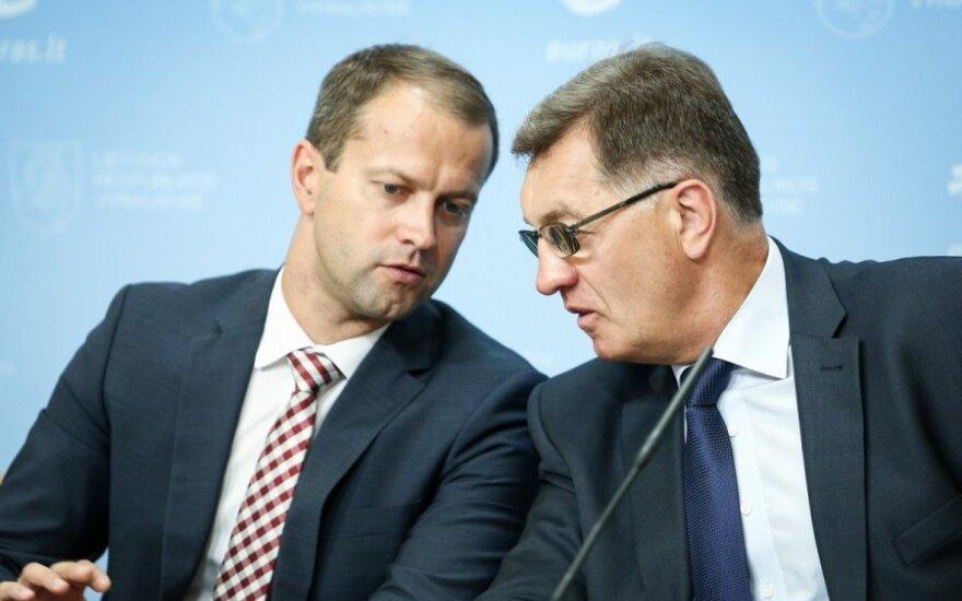 Dalius Misiūnas and Prime Minister Algirdas Butkevičius