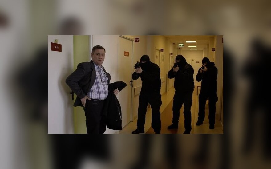 """Kęstutis Jakštas seriale """"Prakeikti"""""""