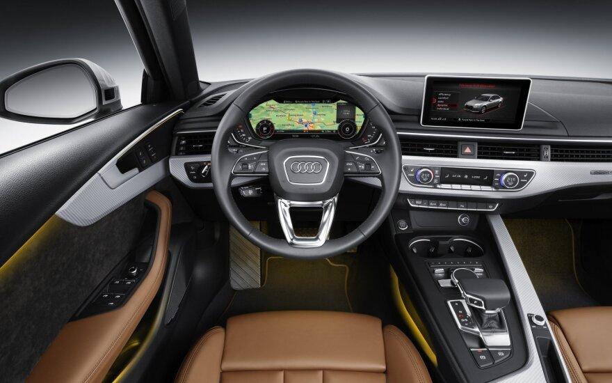 """""""Audi"""" ruošia inovatyvius sprendimus"""