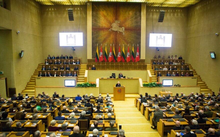 Seimas balsuos dėl Laisvės premijos skyrimo
