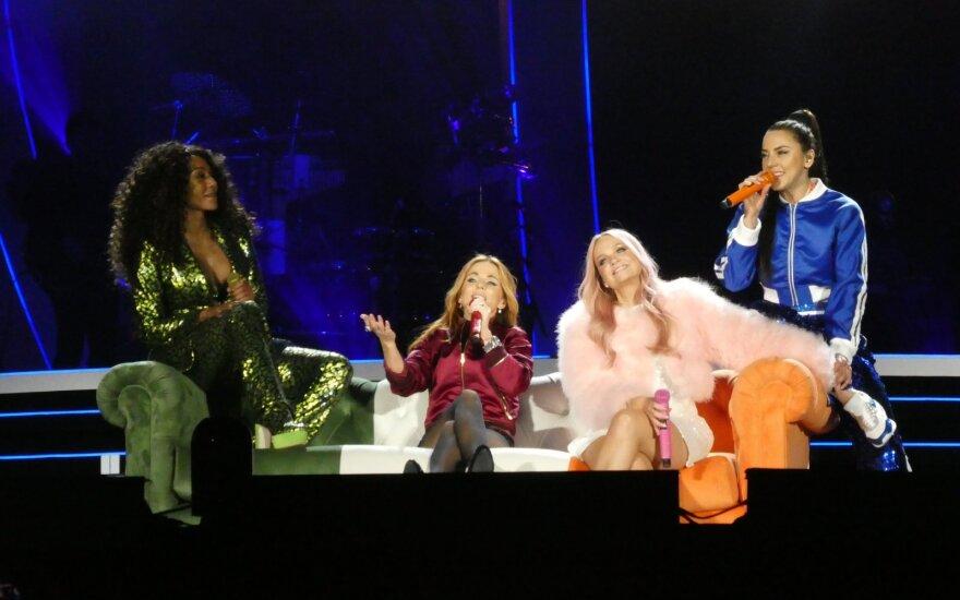 """""""Spice Girls"""" pasirodymas"""