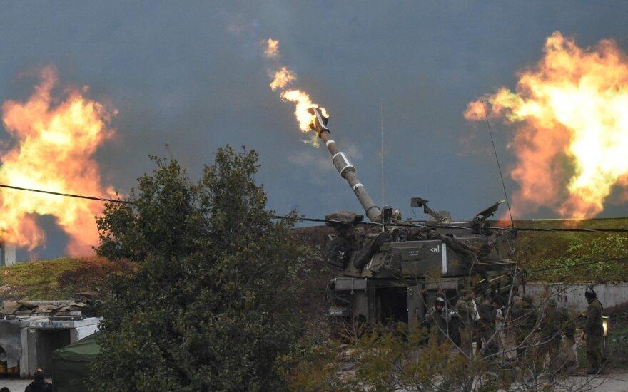 """JAV ir kitos šalys skyrė sankcijas su Islamo revoliucine gvardija ir """"Hezbollah"""" susijusiems subjektams"""