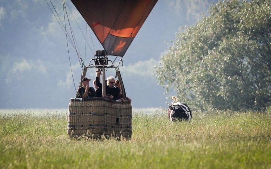 Richardas Bransonas oro balione