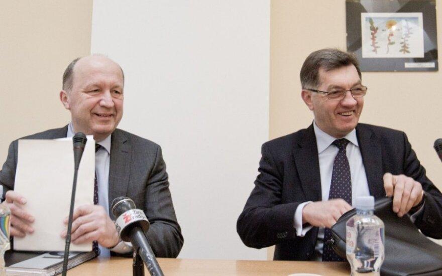 Andrius Kubilius, Algirdas Butkevičius