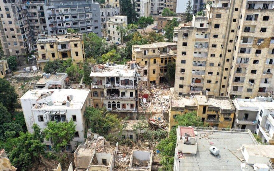 Beirutas po pražūtingo sprogimo