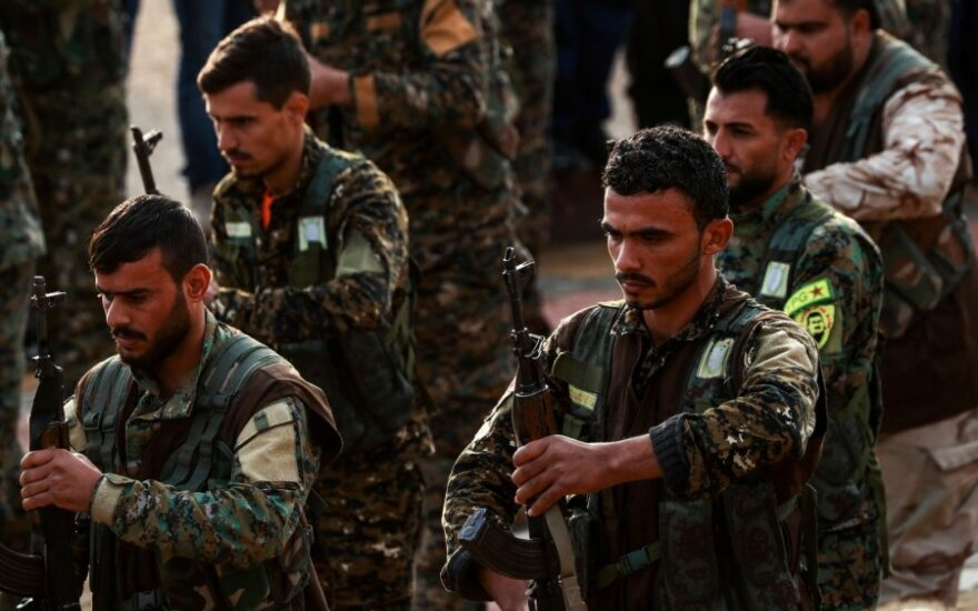 Sirijos kurdų kovotojai