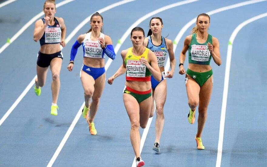 Olimpiniam debiutui nusiteikusi Šerkšnienė: nemanau, kad bus blogai