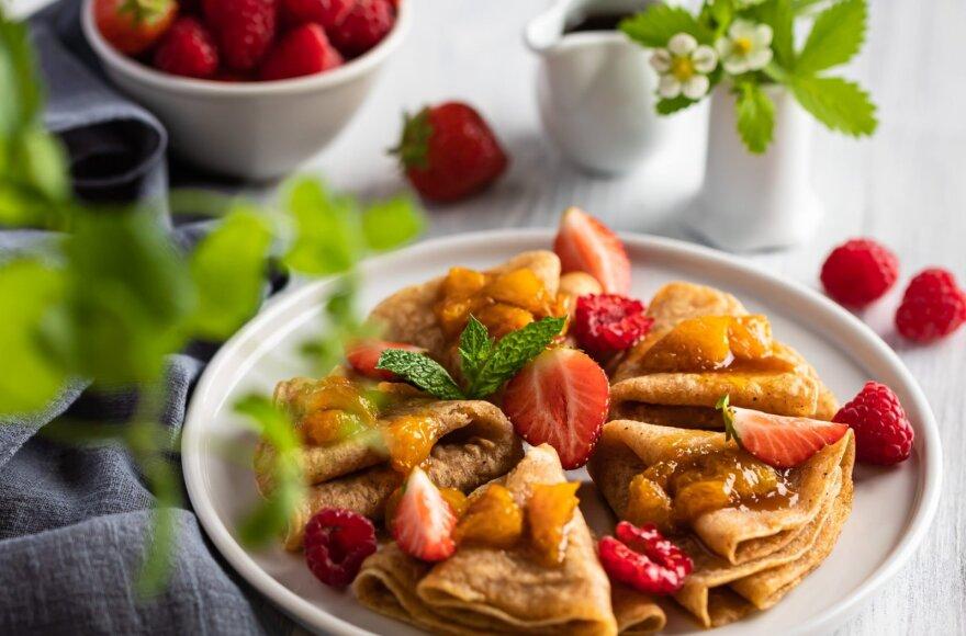 Apelsininiai lietiniai – kvepės visa virtuvė