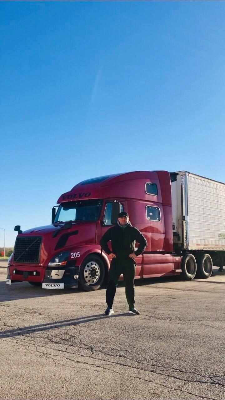 numesti svorio sunkvežimio vairuotojas
