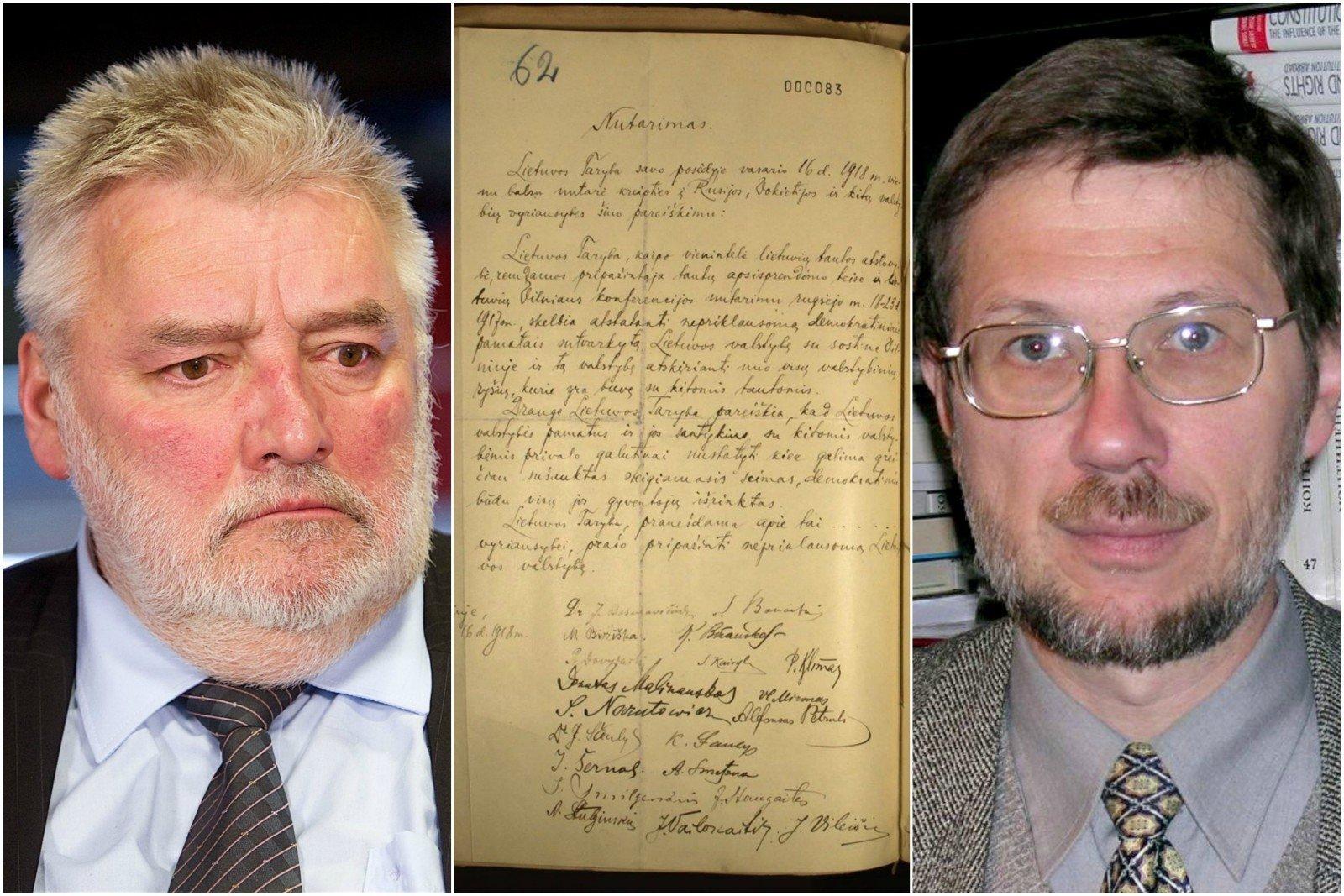 ВБерлине найден потерянный оригинал акта онезависимости Литвы