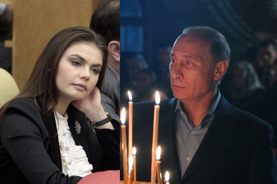 Alina kabajeva ir vladimiras putinas