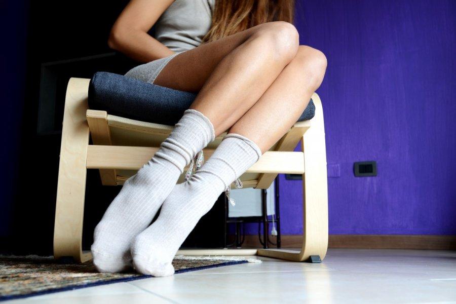 того, небольшие видео девушки в белых носочках чувствовала