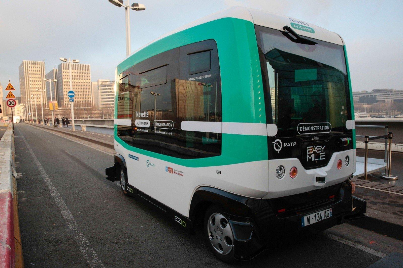 ПоТаллину начали курсировать беспилотные автобусы