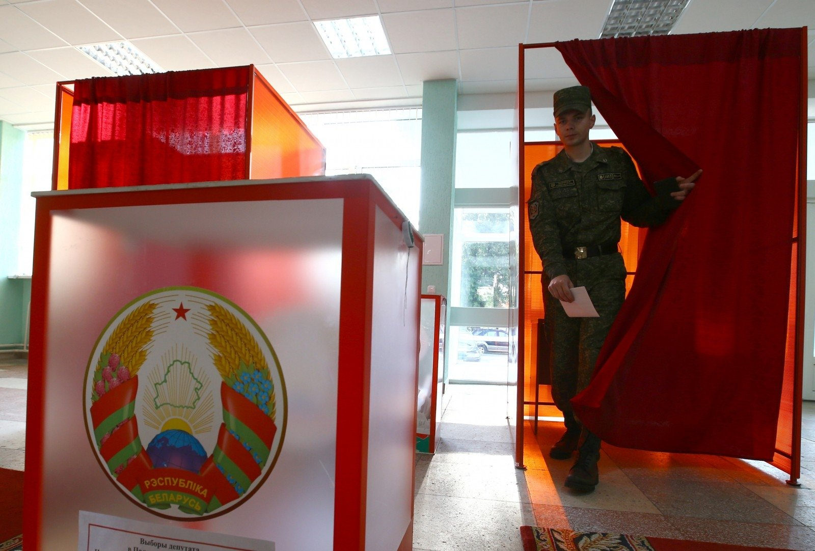 Преждевременно напарламентских выборах в республики Белоруссии проголосовали неменее 31% избирателей