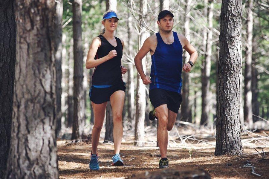 bėgimas gerina širdies sveikatą
