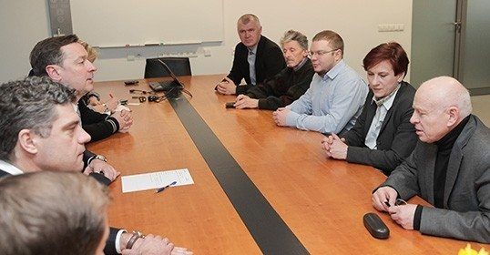 Белорусы Литвы встретились с мэром Вильнюса
