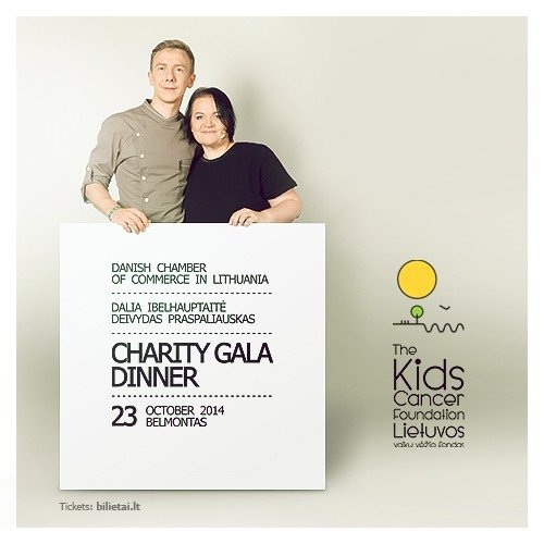 Danish Chamber of Commerce throws charity dinner to help children's cancer clinic