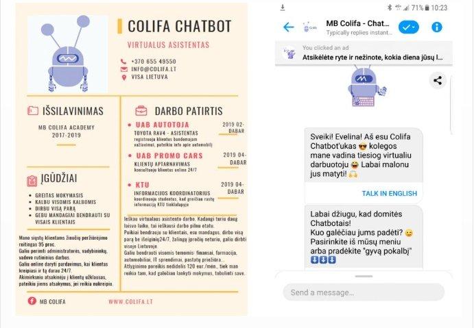 Lietuvių startuolis kuria pokalbių robotus, leidžiančius kalbėtis su daiktais