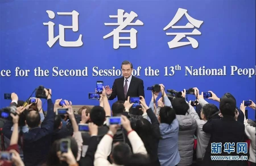 Chinese foreign minister comments on major international issues and