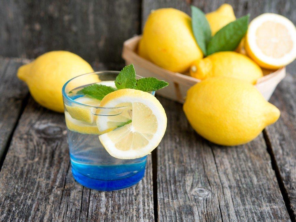 Похудение на воде с лимоном