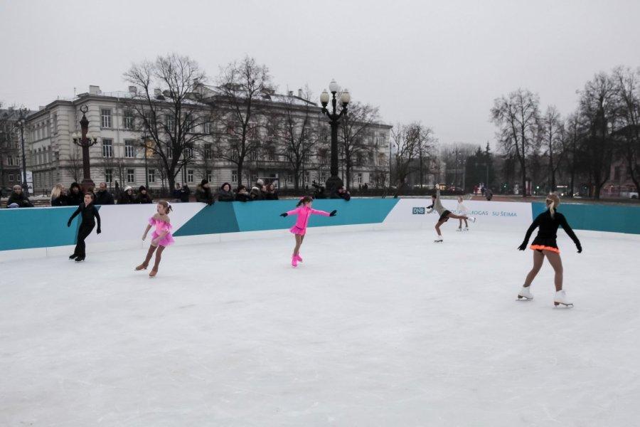 Ledo čiuožyklos vilniuje