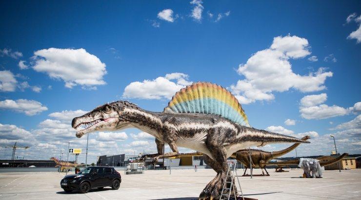 Dinozauru parkas ozas