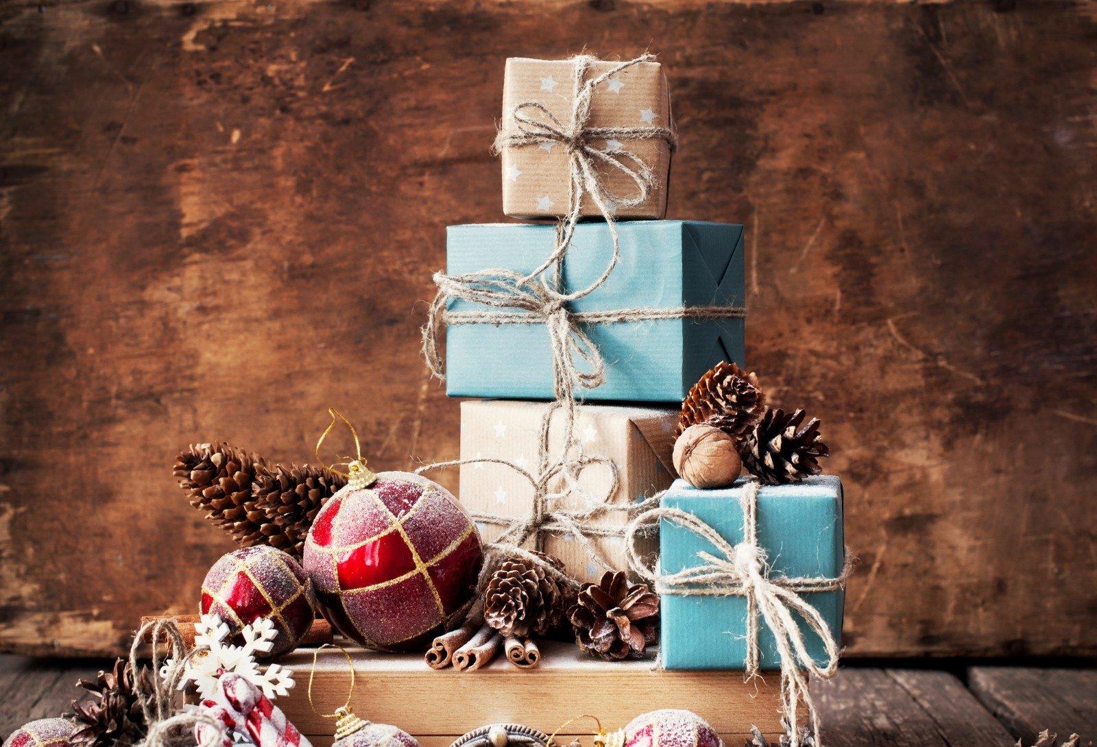 Фото натюрморты с подарками
