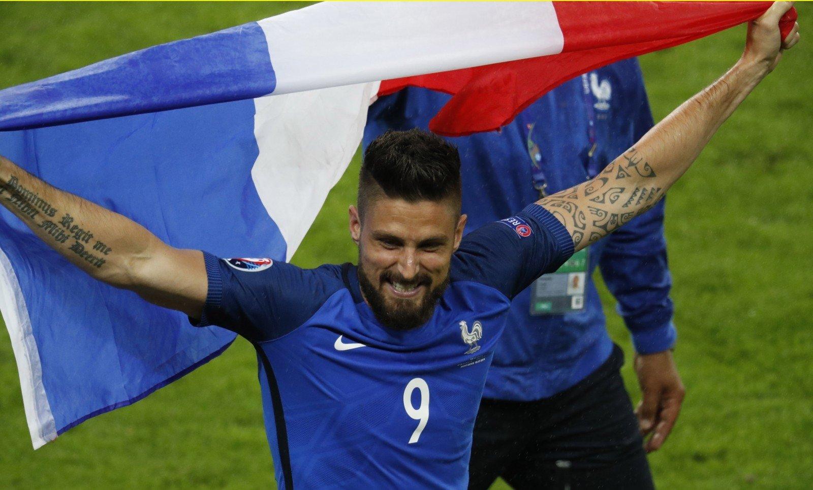 Франция разгромила Исландию ивышла вполуфинал Евро
