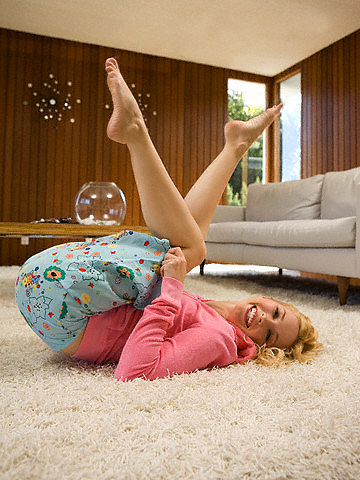 Moteris, grindys