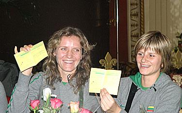 Vita Kuktienė ir Ela Briedytė