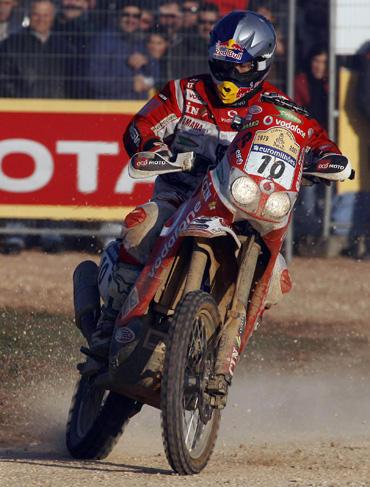 """H.Rodriguesas (""""Yamaha"""") laimėjo 2-ąjį Dakaro ralio etapą"""