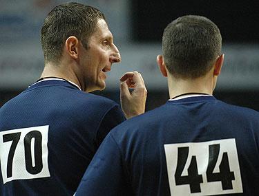 Teisėjai, krepšinis