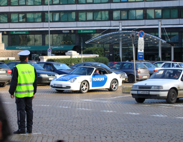 "Bulgarijos policininkų ""Porsche"""