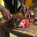 Darinėjama ožkos galva, Uganda
