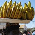 Bananų pardavėja, Uganda