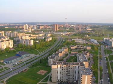 Vilnius, daugiabučiai