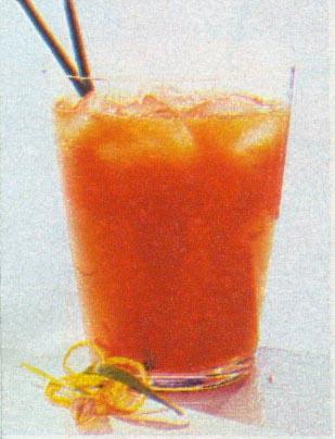 Pomidorų - apelsinų sultys