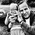 Ingmaras Bergmanas su sūnumi Danieliu